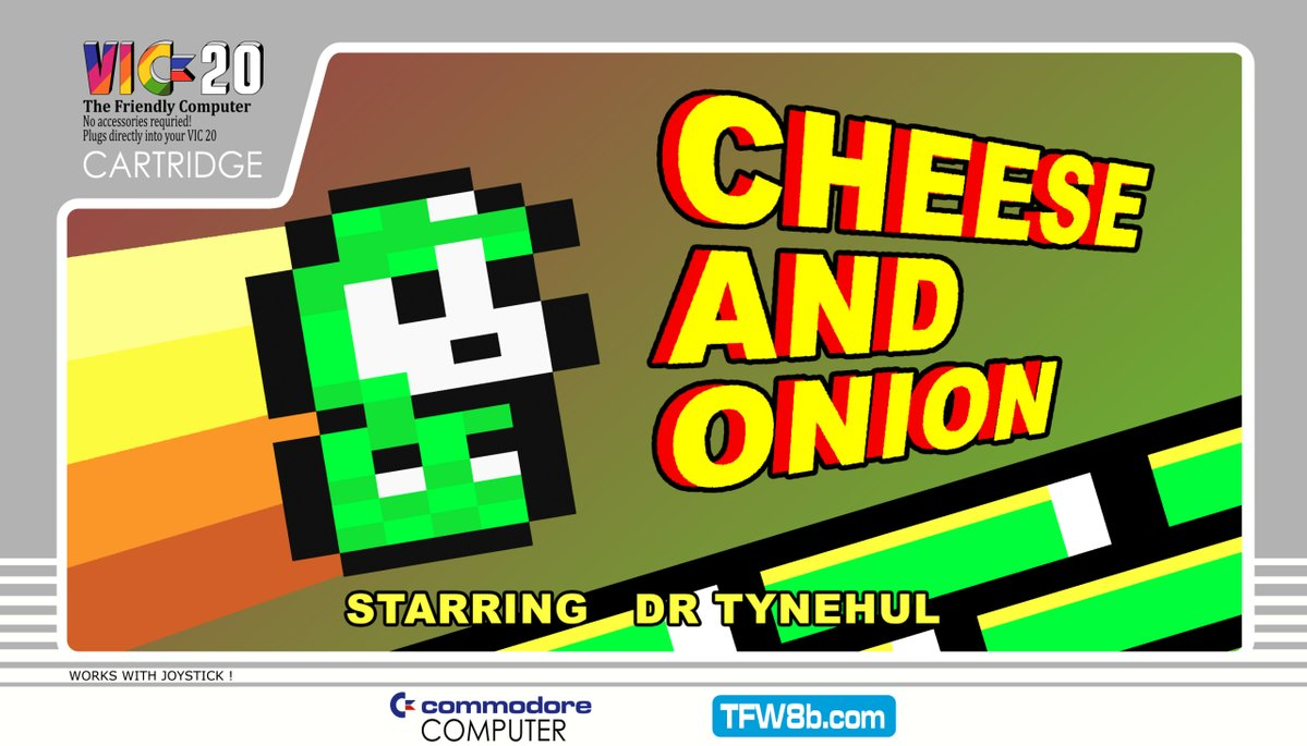 new physical cartridge release cheese and onion denial